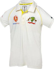 Cricket Australia 2018-19 Kids Replica Test Shirt