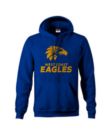 West Coast Eagles 2018 Mens Core Logo Hoody