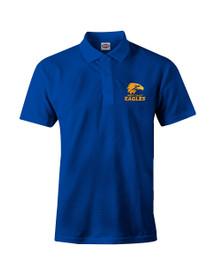 West Coast Eagles 2018 Mens Core Logo Polo