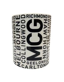 MCG Text Coffee Mug - VFL Teams