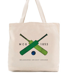 MCG 1853 Tote Bag - Bats & Ball