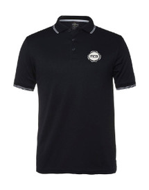 MCG Adults Black Polo