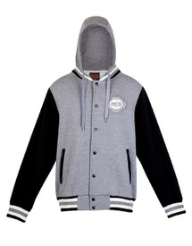 MCG Adults Hooded Baseball Jacket