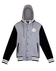 MCG Adults Hooded Baseball Jacket