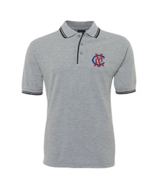 MCC Adults Grey Marle Polo
