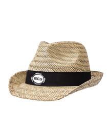 MCG Straw Fedora Hat