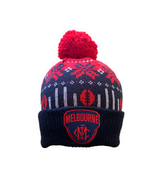 Melbourne Demons 2021 Supporter Ugly Beanie