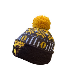 Hawthorn 2021 Supporter Ugly Beanie