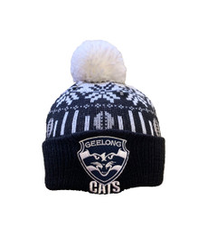 Geelong 2021 Supporter Ugly Beanie