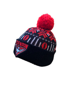 Essendon 2021 Supporter Ugly Beanie