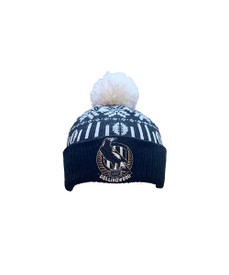 Collingwood 2021 Supporter Ugly Beanie