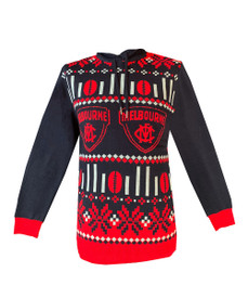 Melbourne Demons 2021 Mens Hooded Ugly Sweater