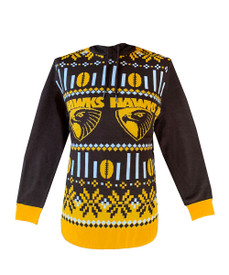 Hawthorn 2021 Mens Hooded Ugly Sweater