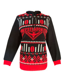 Essendon 2021 Mens Hooded Ugly Sweater