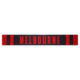 Melbourne Demons FOF Wool Team Scarf