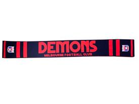 Melbourne Demons FOF Wool Flashback Scarf