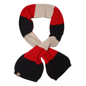 Melbourne Demons FOF Textured Wool Scarf