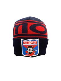 Melbourne Demons FOF Wool Flashback Beanie