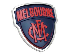 Melbourne Demons 3D Chrome Supporter Emblem