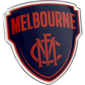Melbourne Demons Lensed Chrome Supporter Logo
