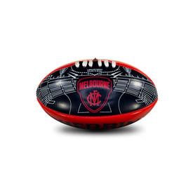 Melbourne Demons Sherrin Softie Ball 20cm