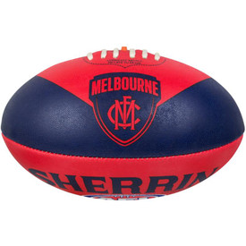 Melbourne Demons Sherrin Synthetic Size 5