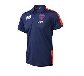 Melbourne Demons 2019 NB Adults Media Polo