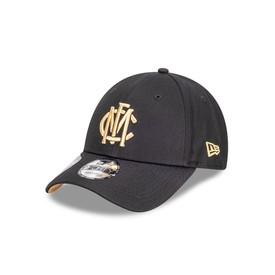 Melbourne Demons New Era 940 Black Gold Logo Cap
