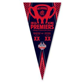 Melbourne Demons 2021 Premiers Pennant