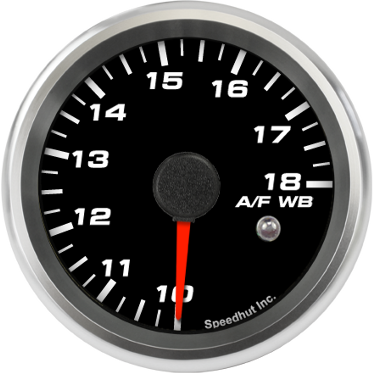 """2-5/8"""" Air/Fuel Gauge Wide Band 10-18 (w/ warning) (FOR INNOVATE)"""