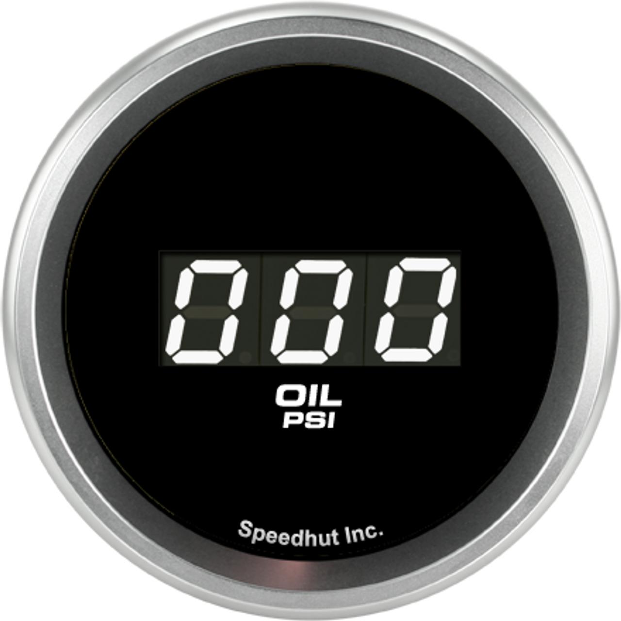 "2-1/16"" Oil Pressure Digital Gauge 0-100psi"