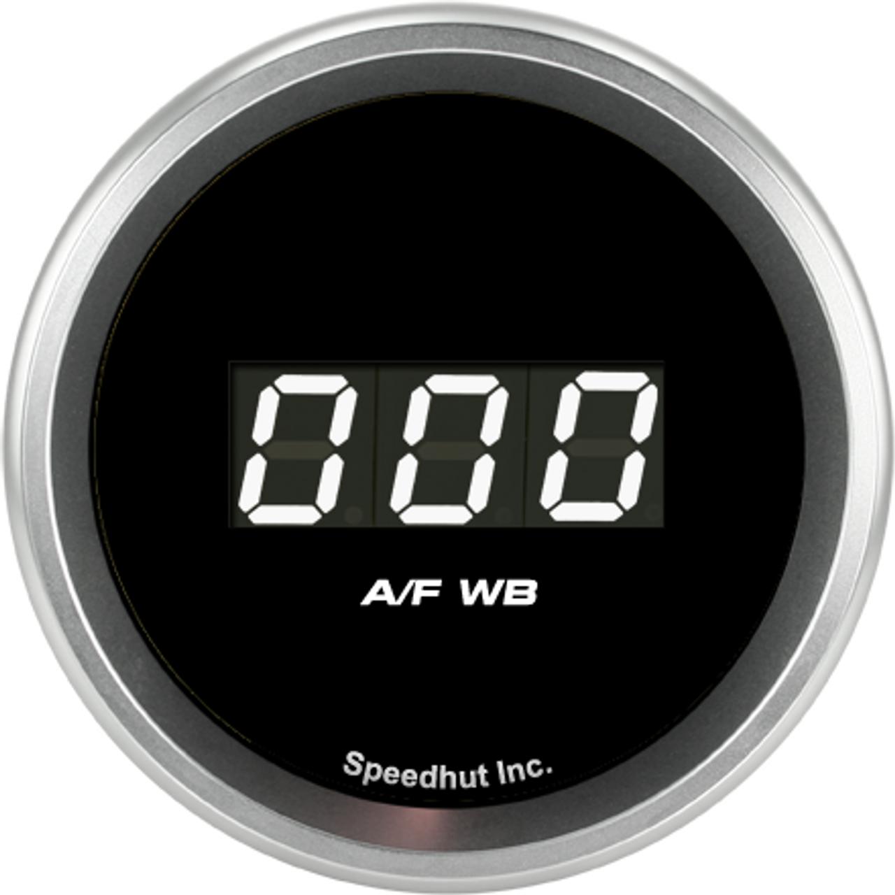 """2-1/16"""" Air/Fuel Digital Gauge Wide Band 9-16 (Ballenger AFR500 and NGK AFX)"""