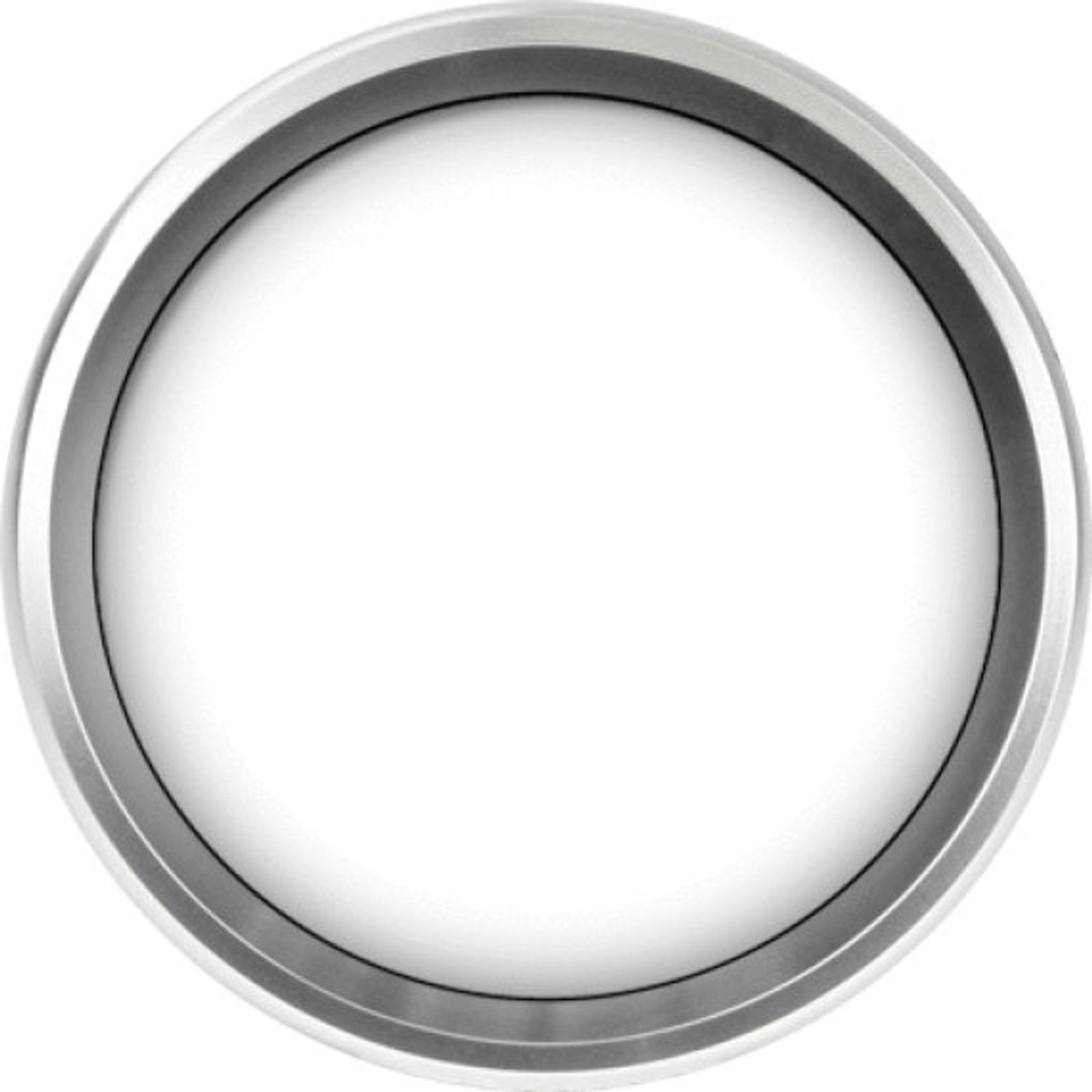 "Revolution Silver Replacement Bezel for 3-3/8"" gauge"