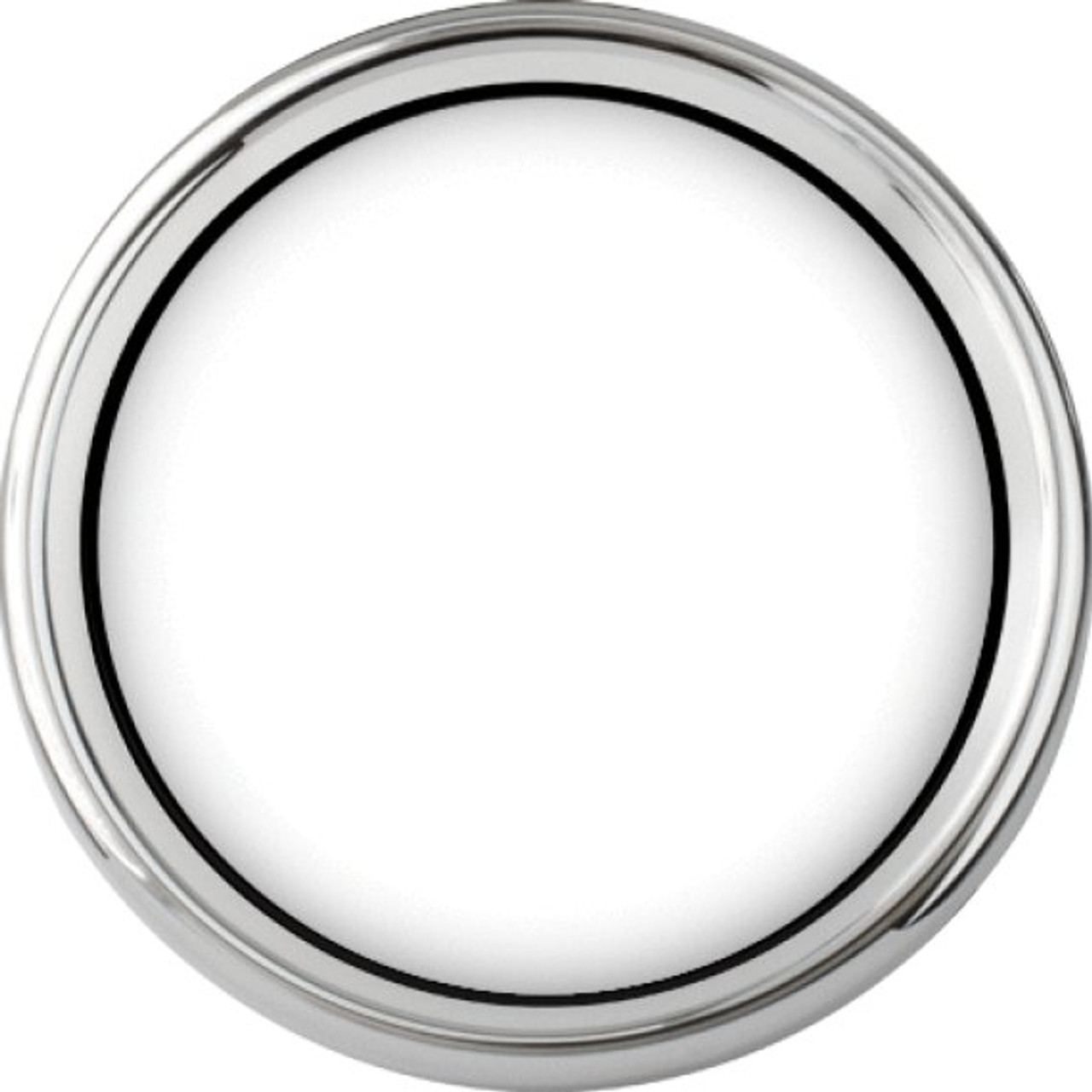 """Chrome Smoothie Replacement Bezel for 4"""" gauge"""