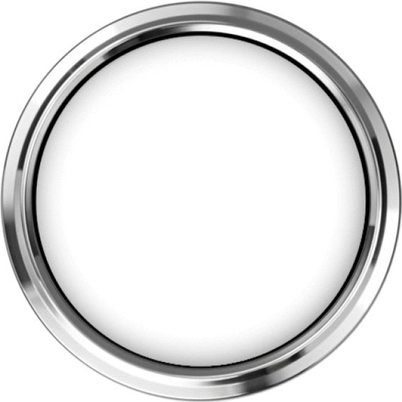 """Legacy Chrome Replacement Bezel for 4"""" gauge"""