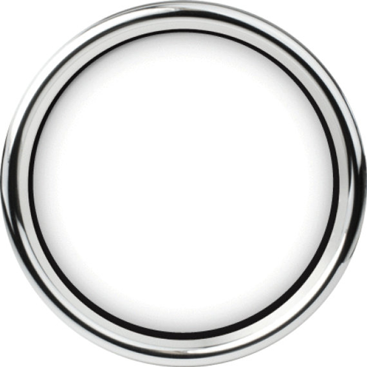 """Chrome Smoothie Replacement Bezel for 4-1/2"""" gauge"""