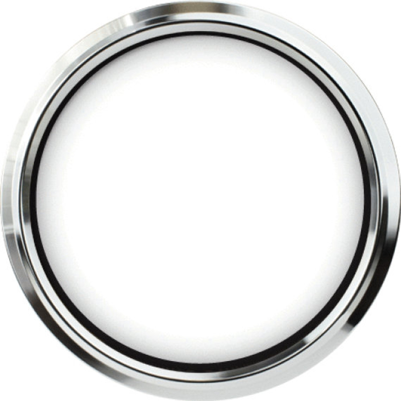 """Legacy Chrome Replacement Bezel for 4-1/2"""" gauge"""