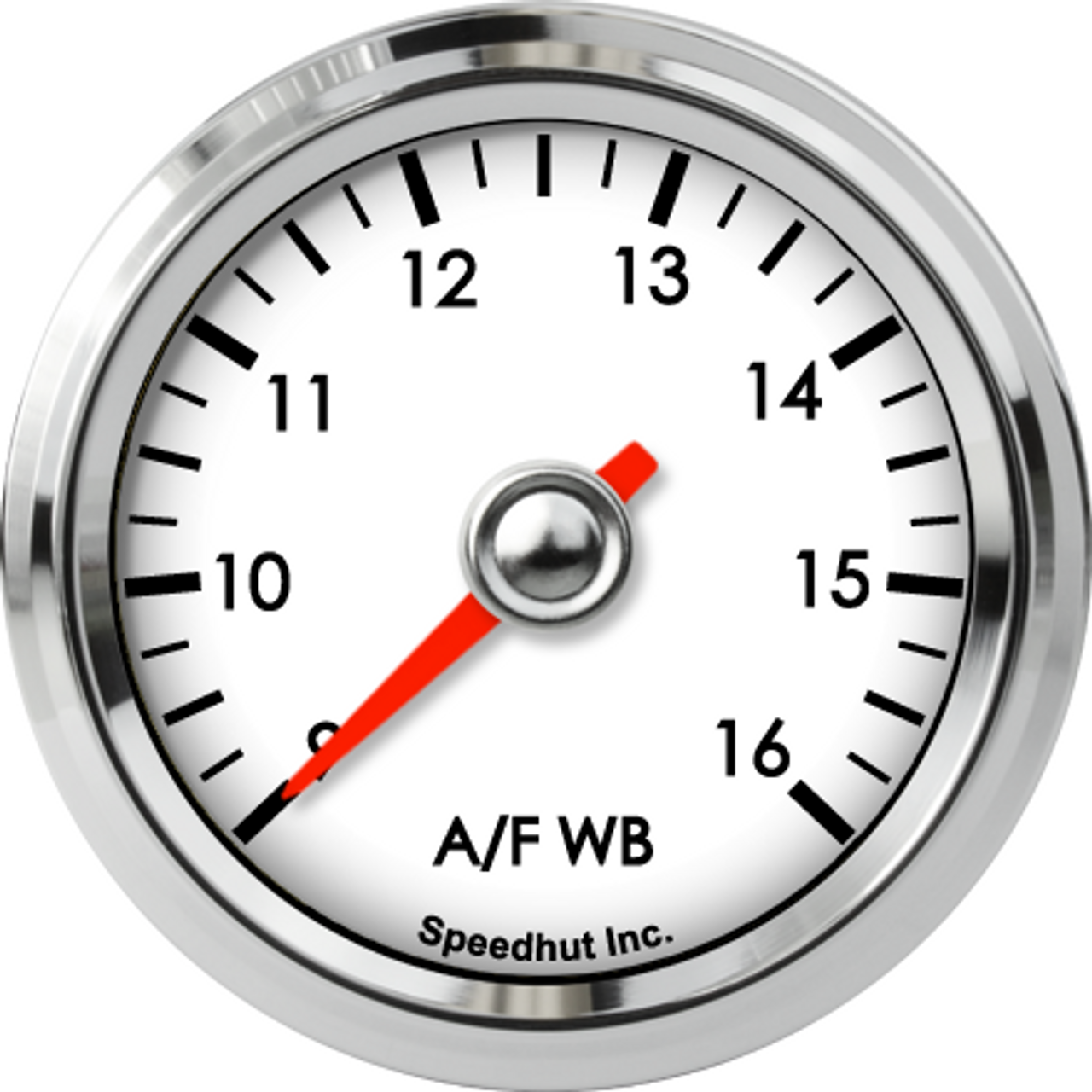 """2-1/16"""" Classic Air/Fuel Gauge Wide Band 9-16 (for Ballenger AFR500 and NGK AFX)"""