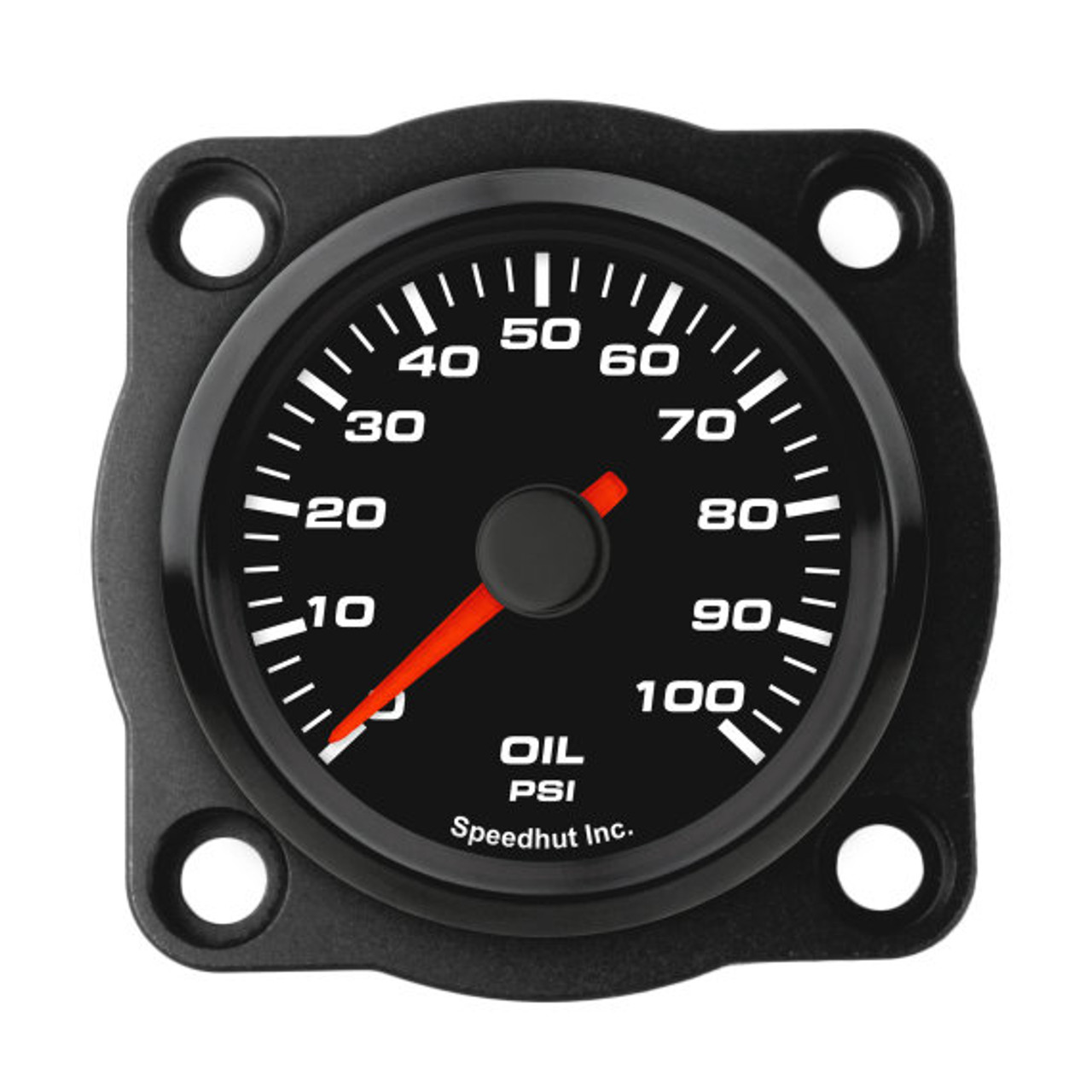 "Black Aviator Trim Bezel for 2-1/16"" gauge"