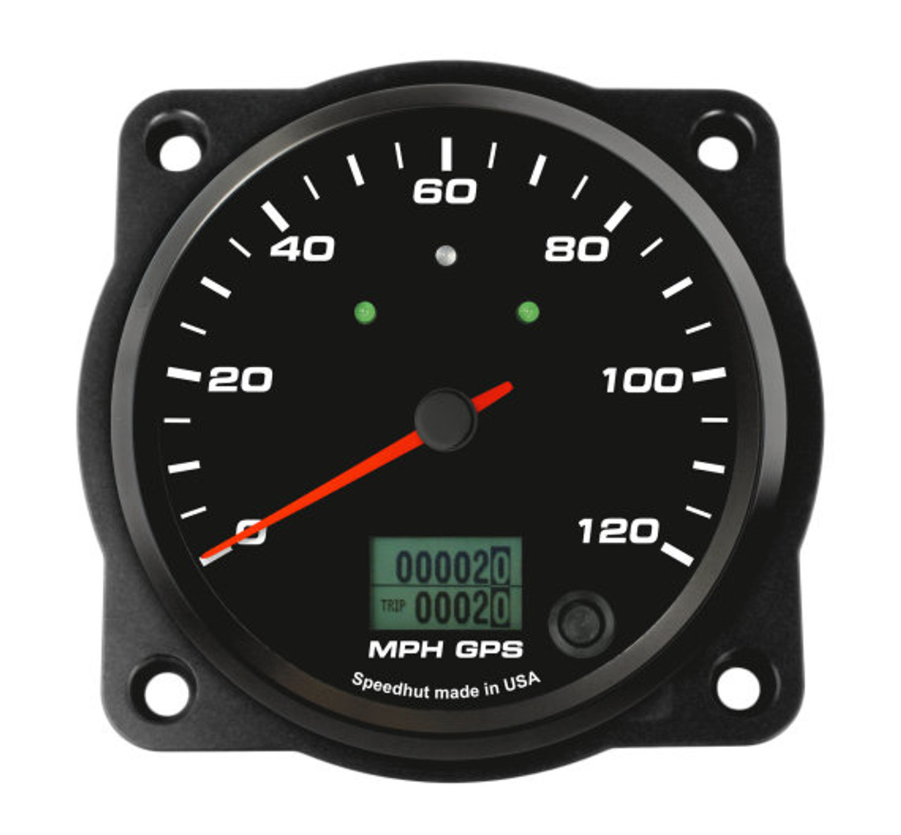 "Black Aviator Trim Bezel for 4-1/2"" gauge"