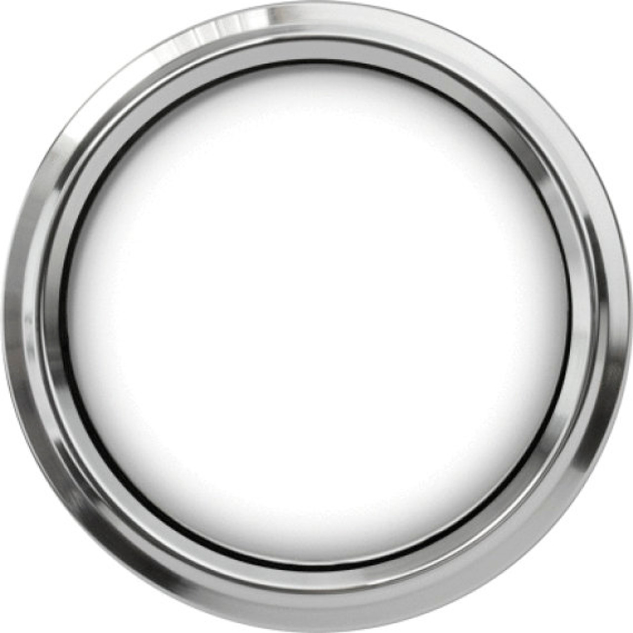"""Legacy Chrome Replacement Bezel for 2-5/8"""" gauge"""