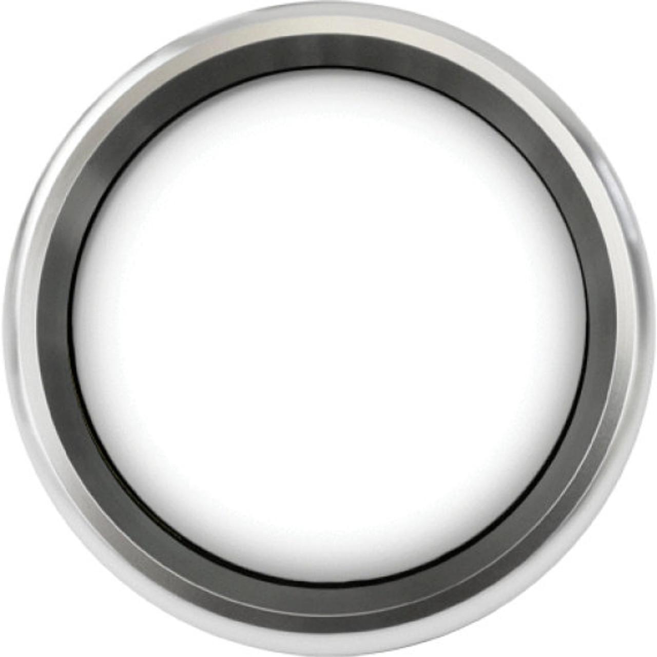 "Revolution Silver Replacement Bezel for 2-5/8"" gauge"