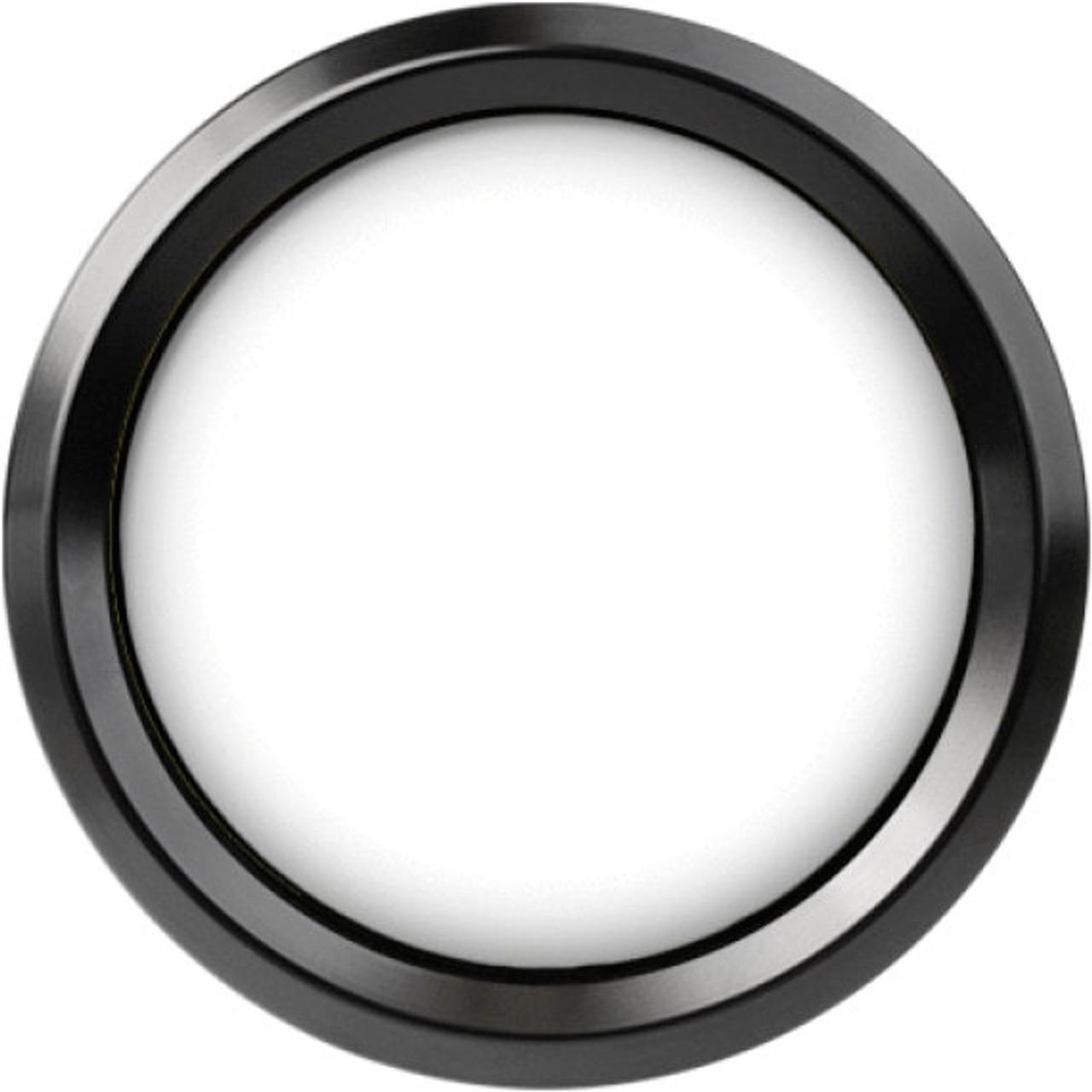 "Stealth Black Replacement Bezel for 2-5/8"" gauge"