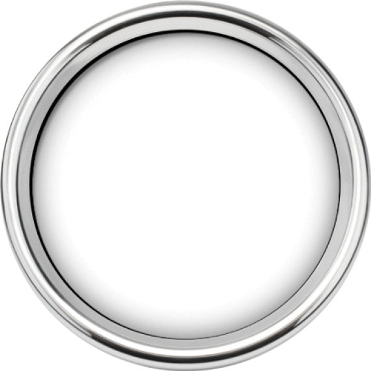 """Chrome Smoothie Replacement Bezel for 3-3/8"""" gauge"""