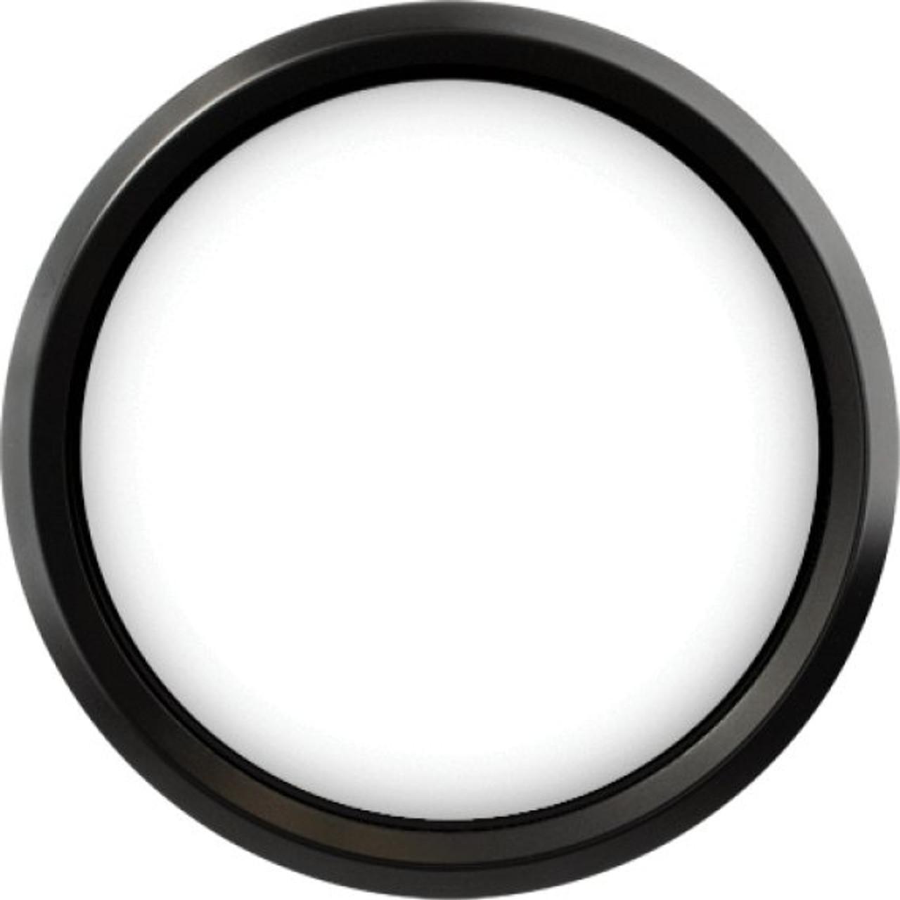"Stealth Black Replacement Bezel for 4"" gauge"