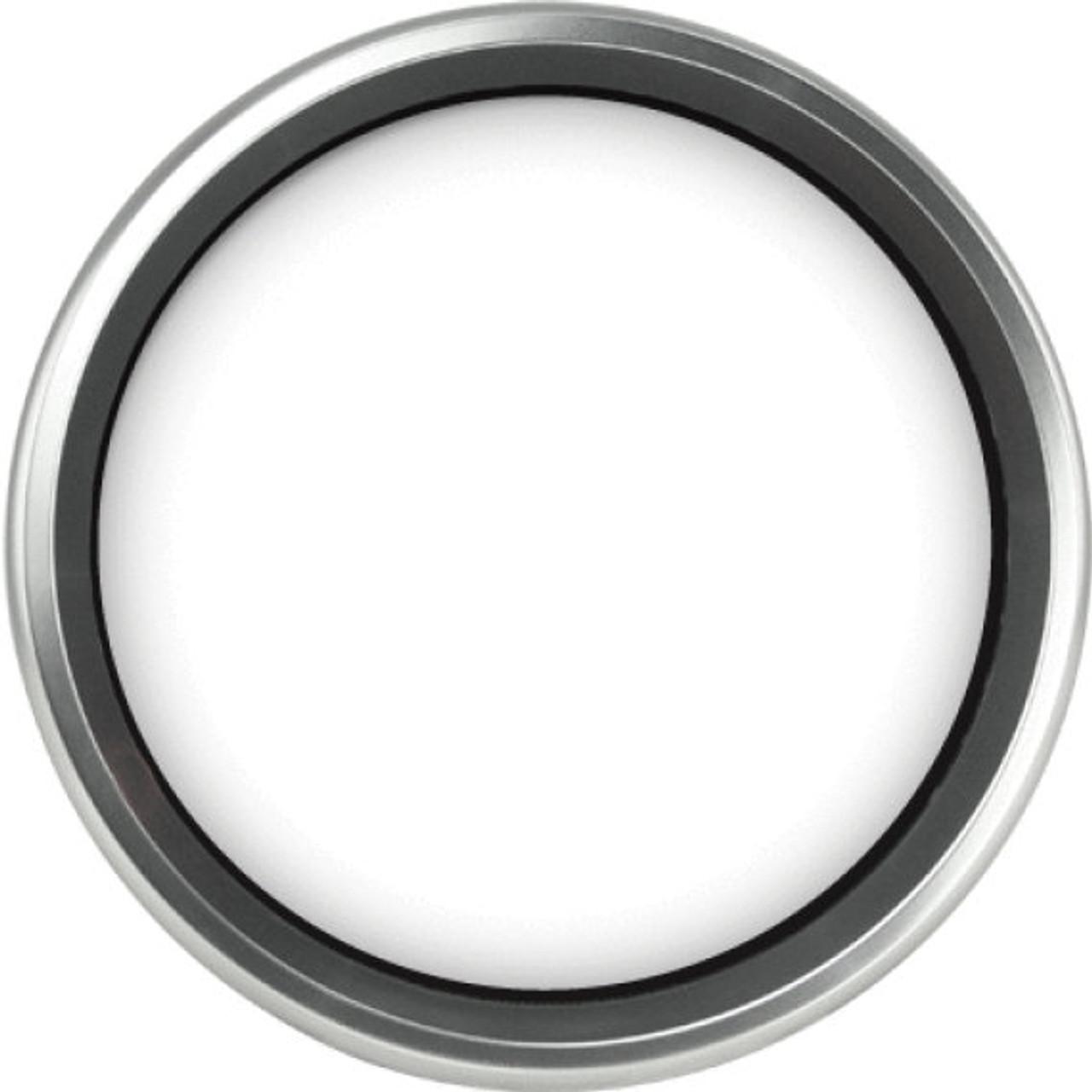 "Revolution Silver Replacement Bezel for 4-1/2"" gauge"