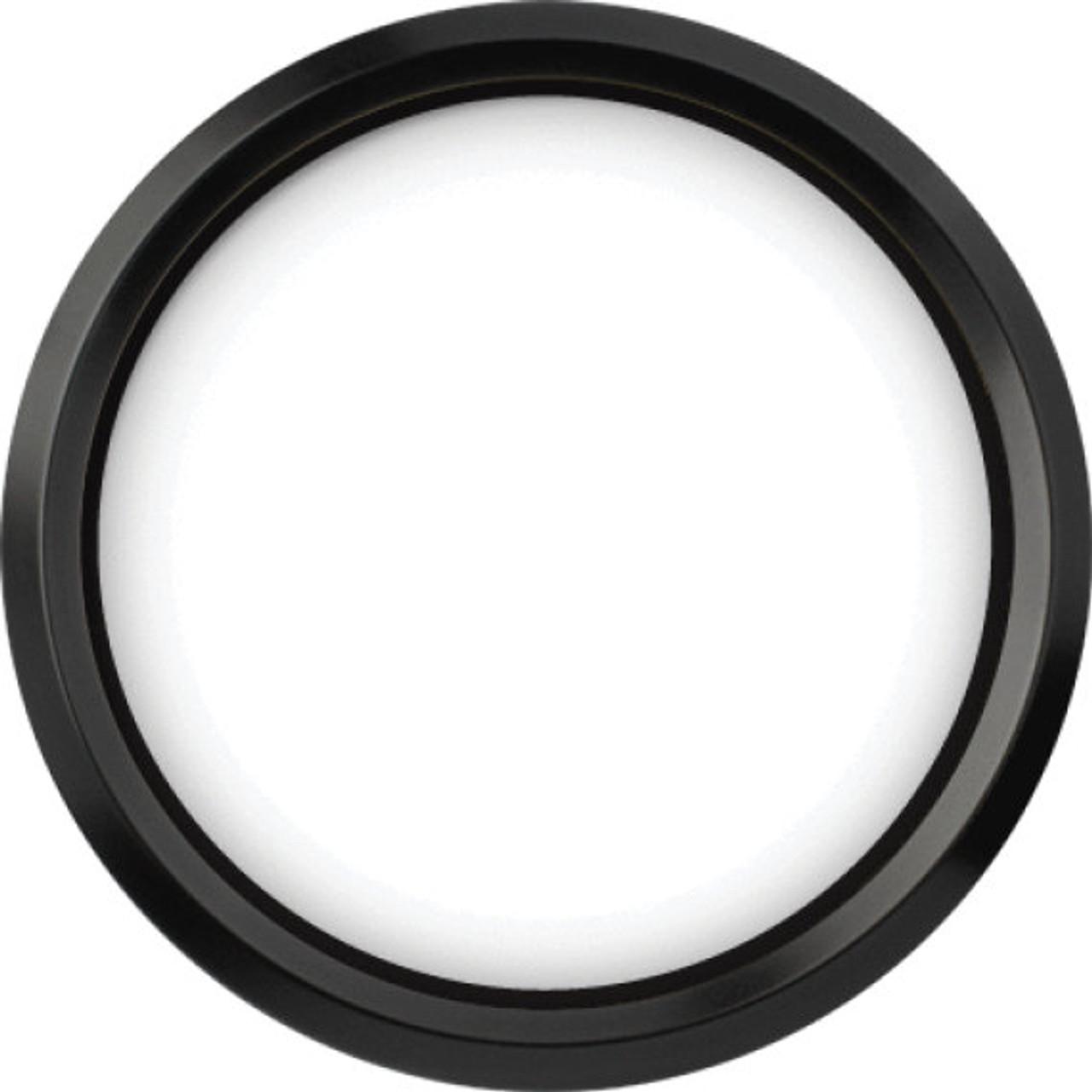 "Stealth Black Replacement Bezel for 4-1/2"" gauge"