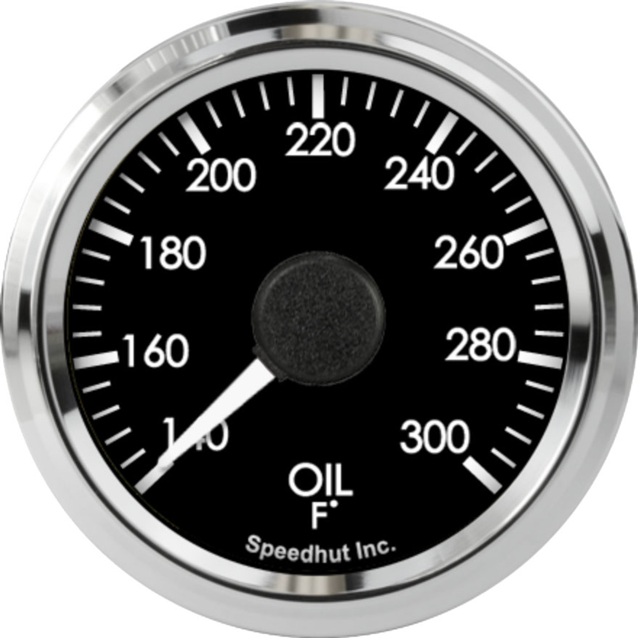 """2-1/16"""" Freedom CAN-BUS Oil Temp Gauge 140-300F (For GM vehicles only)"""