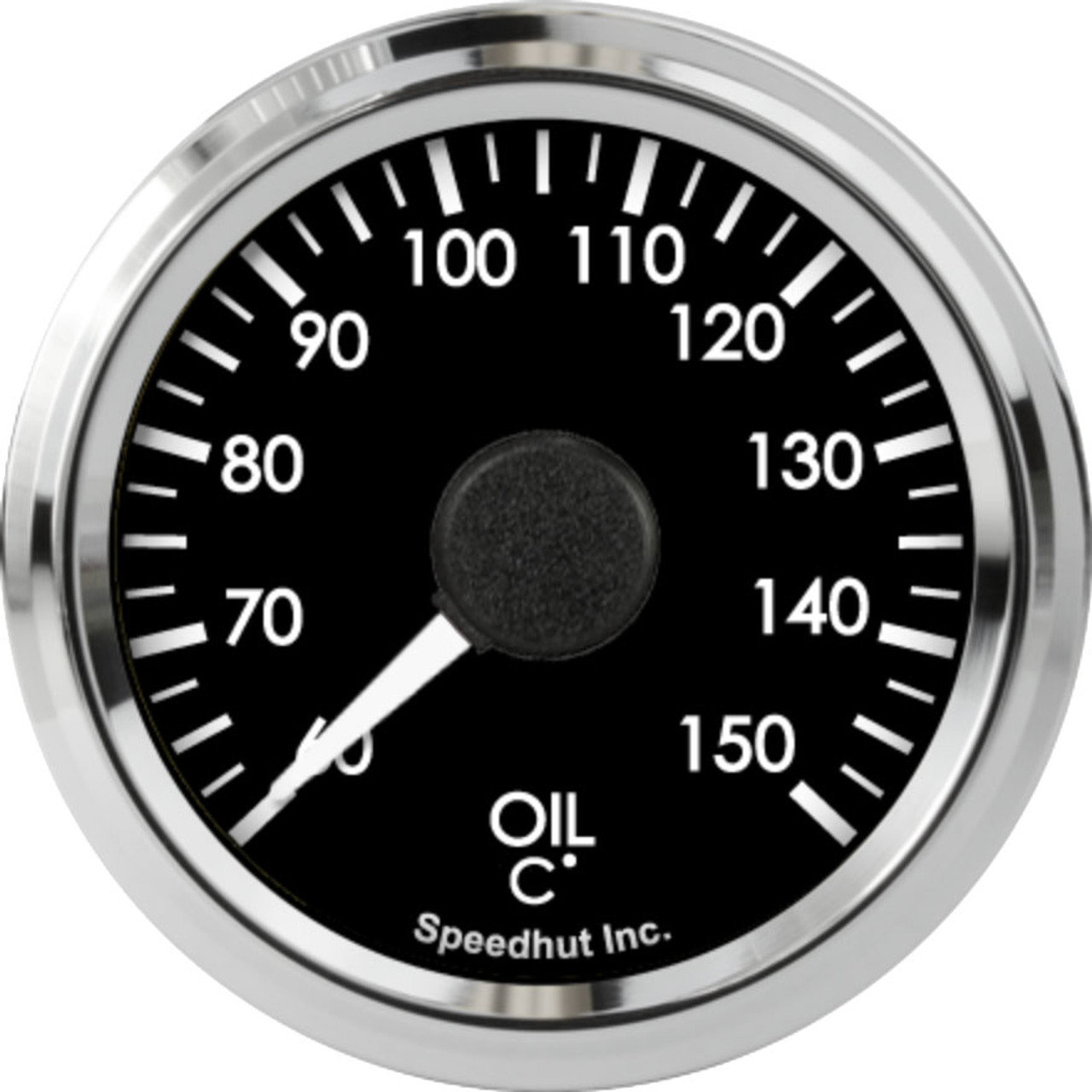"""2-1/16"""" Freedom CAN-BUS Oil Temp Gauge 60-150C Metric (For GM vehicles only)"""