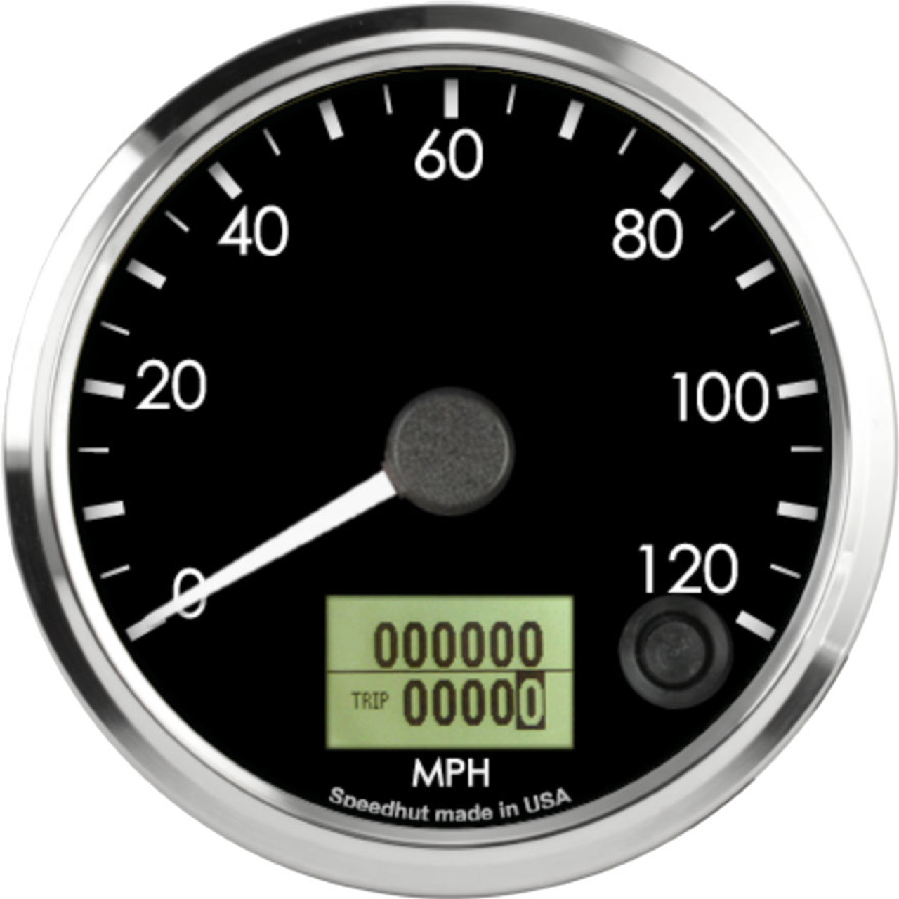 """3-3/8"""" Freedom CAN-BUS Speedometer 120mph"""